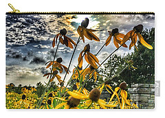 Carry-all Pouch featuring the photograph Black Eyed Susan by Sumoflam Photography