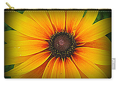 'black Eyed Susan' Carry-all Pouch