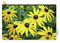 Black Eyed Susans- Fine Art Photograph By Linda Woods Carry-all Pouch