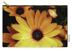 Carry-all Pouch featuring the photograph Black Eyed Susans. Looks Like They're by Mr Photojimsf