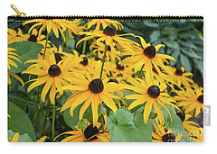 Black-eyed-susans Carry-all Pouch