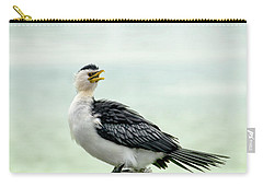 black faced Cormorant 02 Carry-all Pouch