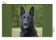 Black German Shepherd Dog Carry-all Pouch