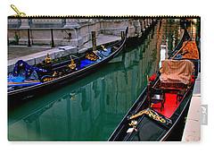 Black Gondola Carry-all Pouch