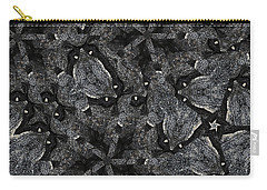 Black Granite Kaleido 3 Carry-all Pouch by Peter J Sucy