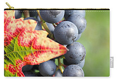 Black Grapes On The Vine Carry-all Pouch