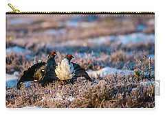 Black Grouses Carry-all Pouch by Torbjorn Swenelius