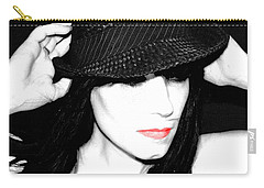 Black Hat Carry-all Pouch by Tbone Oliver