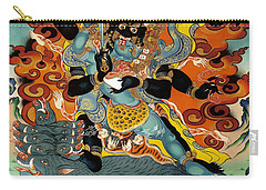 Black Hayagriva Carry-all Pouch by Sergey Noskov