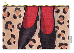 Black High Heels Carry-all Pouch