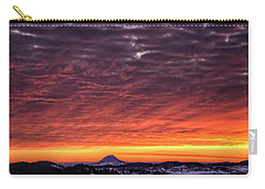 Black Hills Sunrise Carry-all Pouch by Fiskr Larsen