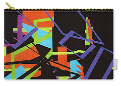Black In Space Carry-all Pouch by Vickie G Buccini
