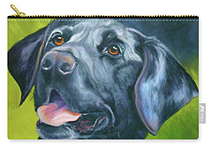Black Lab Forever Carry-all Pouch