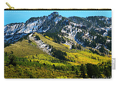 Black Mesa Rocky Peak In Autumn Carry-all Pouch
