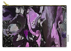 Black Metallic Orchid Carry-all Pouch