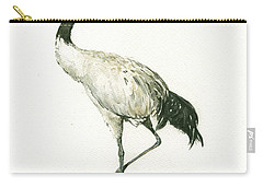 Black Necked Crane Carry-all Pouch