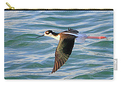 Black-necked Stilt 6 Carry-all Pouch