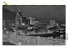 Black Night In Nashville Carry-all Pouch