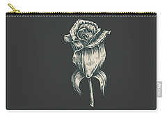 Black On Black Carry-all Pouch
