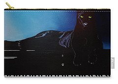 Black Panther And His Piano Carry-all Pouch