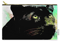 Black Panther Animal Art Carry-all Pouch