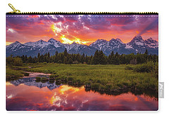 Black Ponds Sunset Carry-all Pouch