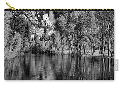 Black Reflections Yosmite Falls Carry-all Pouch