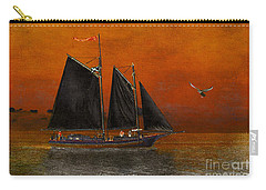 Black Sails In The Sunset Carry-all Pouch