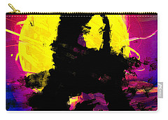 Black Scarf Carry-all Pouch