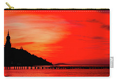 Black Sea Turned Red Carry-all Pouch by Reksik004