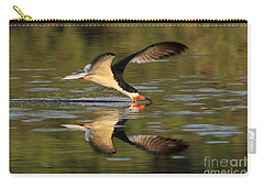 Black Skimmer Fishing Carry-all Pouch by Meg Rousher