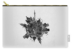 Black Skyround Art Of Moscow, Russia Carry-all Pouch