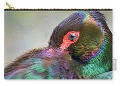 Black Stork Carry-all Pouch by Nadia Sanowar
