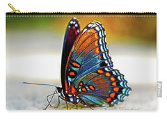 Black Swallowtail Butterfly 003 Carry-all Pouch