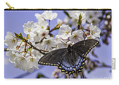 Black Swallowtail Butterfly Carry-all Pouch
