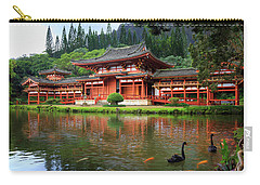Black Swans At Byodo-in Carry-all Pouch