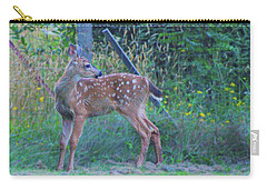 Black-tail Deer Fawn 2 Carry-all Pouch