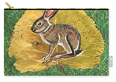 Black Tail Jack Rabbit  Carry-all Pouch