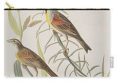 Black-throated Bunting Carry-all Pouch by John James Audubon