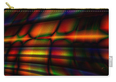 Carry-all Pouch featuring the digital art Black Velvet by Kiki Art