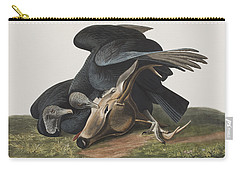Black Vulture Or Carrion Crow Carry-all Pouch