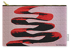 Black Walnut Ink Abstract #10 Carry-all Pouch