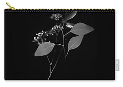 Floating Black And White Carry-all Pouch