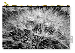 Black Widow Dandelion Carry-all Pouch by Iris Greenwell