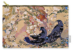 Black Wings Carry-all Pouch