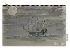 Blackbeard's Ship Carry-all Pouch by Stacy C Bottoms