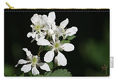 Blackberry Blooms Carry-all Pouch
