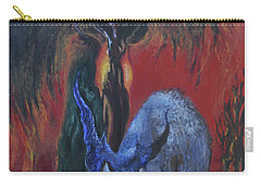 Blackberry Thorn Psychosis Carry-all Pouch by Christophe Ennis