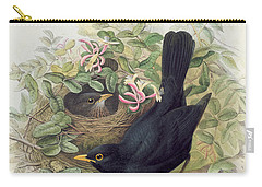 Blackbird,  Carry-all Pouch by John Gould