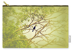 Carry-all Pouch featuring the photograph Blackbird June 2016. by Leif Sohlman